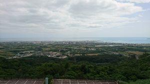 バンナ公園展望台からの眺め